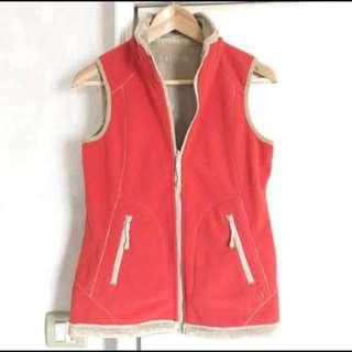 🈹sale! New Aigle reversible fleece vest jacket 全新雙面抓毛背心