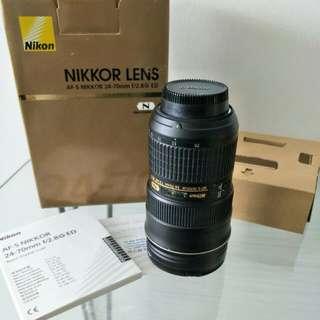Nikon Nikkor AF-S 24-70mm f/2.8 ED