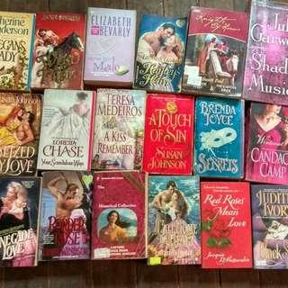 Romance books or novels