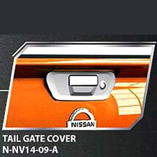 CHROME TAILGATE HANDLE BOWL COVER FOR NISSAN NAVARA NP300 2015 TRUCk
