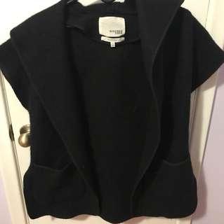 Wilfred Free hooded wool vest