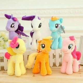Little Pony Plush Toys