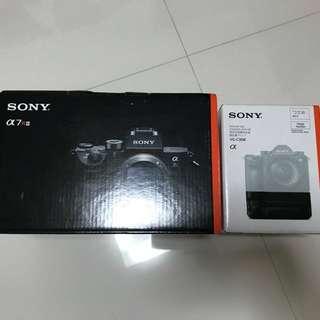 Sony A7R 3 with VG-C3EM. Sony A7RIII