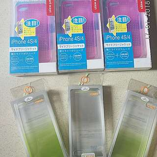 Case iPhone 4/4S & 5