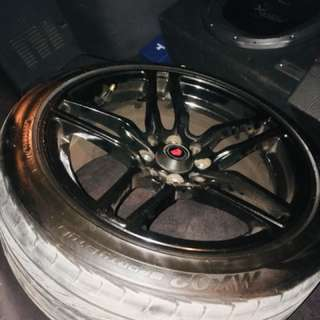 "16"" Vossen wheel with Tire"