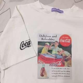 可口可樂復古印花T恤