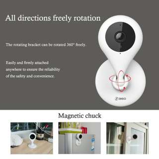 360 Wifi IP Camera 720P Night Wireless Smart Mini Home Camera Vision 2