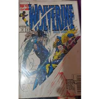 Pre-owned Comic Book - Wolverine No. 78