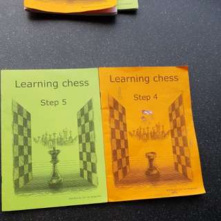 Learning Chess Step 5 & 4