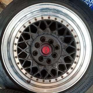 "Sport Rim &tyres15""inch Front 7.0jj Rear 8.0jj"