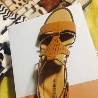 Call it Spring brown sandals size #9