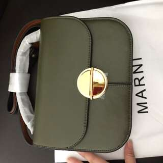 Marni Brand New Leather Bag
