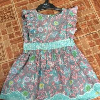 Dress batik lokal brand