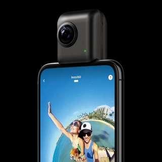 Insta 360 Nano S 4K 全景相機
