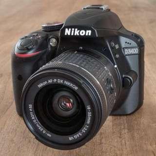 Nikon D3400 full set