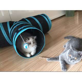 Cats Toys - T Shape Tunnel