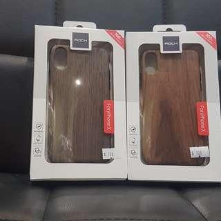 Iphone 7/8/8+/10 元素樹紋手機殼 Wood TPU