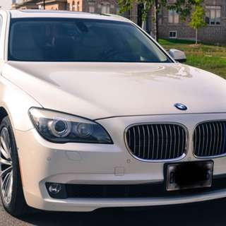 BMW 7 series 2011 no accidents