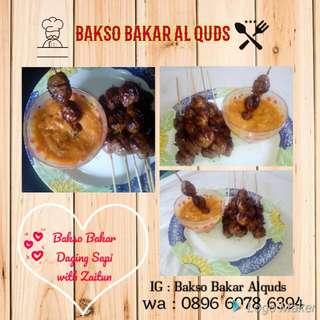 Bakso Bakar Daging Sapi with Zaitun