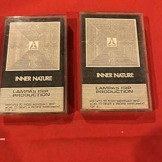 Inner Nature - Lampas Isip Production Baguio 1990 (2 available) audio cassette tape