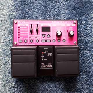 BOSS RC-30 LOOP STATION TWIN PEDAL