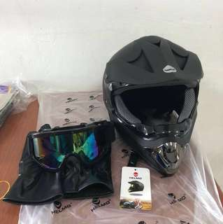 HELMO FULL FACE RACING HELMET