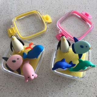 🆕 Sea Creatures Theme Erasers