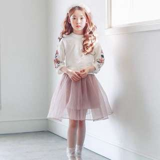 Tutu flare skirt 110cm for 4-5yo girls