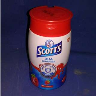 DHA Omega 軟糖 60粒 Scott's GSK Strawberry (June 21 , 18)