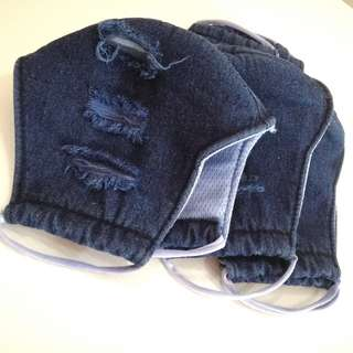 Fabric Face Mask - Jeans