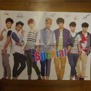 Spexial poster