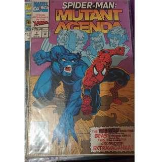 Pre-owned Comic Book - Spiderman: Mutant Agenda No. 1