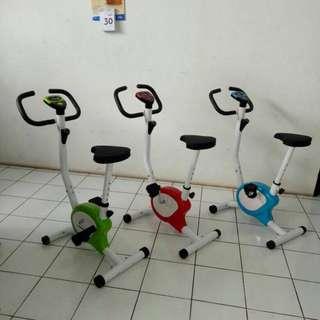 Sepeda Fitness Sepeda Statis Belt Total Fitness Alat Olahraga Murah ^_^