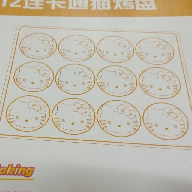 12連卡通烤盤