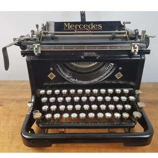 1933年 MERCEDES FAVORIT 古董打字機  德國製