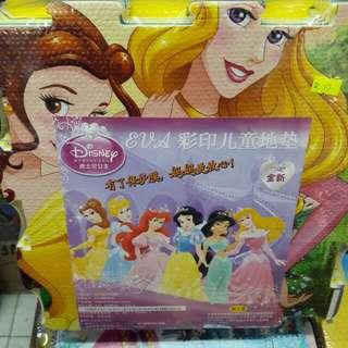 正Disney Princess公主塊裝拼圖(每瑰約30×30cm)