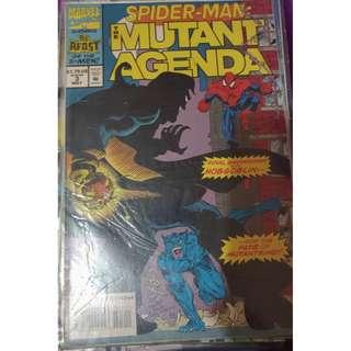 Pre-owned Comic Book - Spiderman: Mutant Agenda No. 3