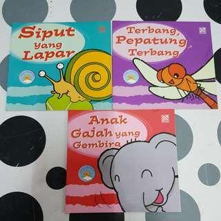 Malay story books ( 3 titles )