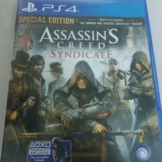 Assassin's creed syndicate ps4 games