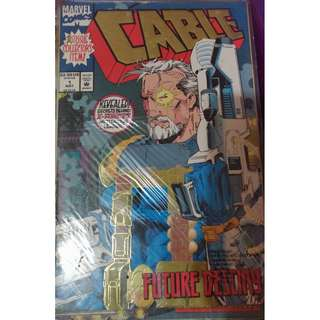 Pre-owned Comic Book - Cable Issue No. 1 (Collector's Item)