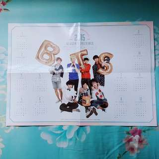 [WTS] BTS 2015 SG Poster