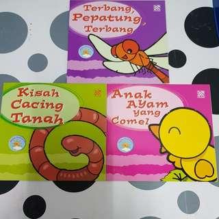 Malay children's story books (3titles)