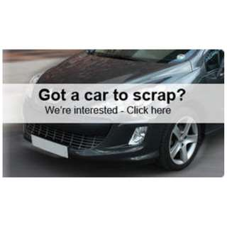 Wanted Used & Scrap Cars!