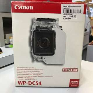 Canon WP-DC54 under water housing for Canon G7X