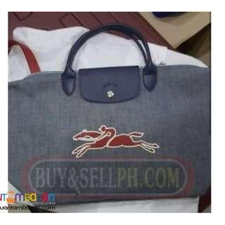 Original Longchamp Denim with strap
