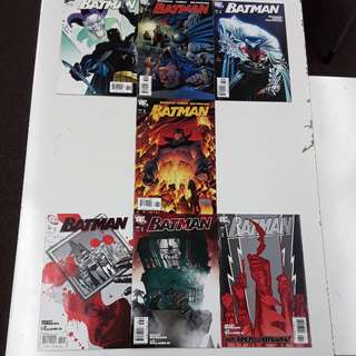 Batman and Son Comics Set