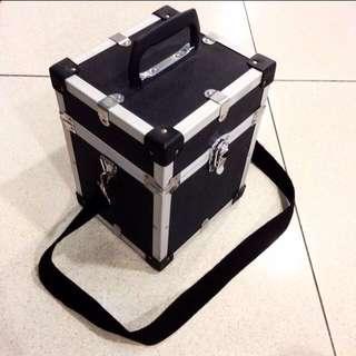 Original Vintage 1970's Hard Case Aluminum Camera Sling Bag Mobile Music Equipment Concert Stage DJ Artist Case Box Indie Photographer Look