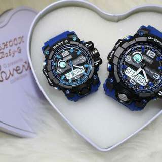 G shock couple promo