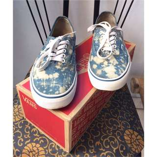 Vans authentic original with acid custom