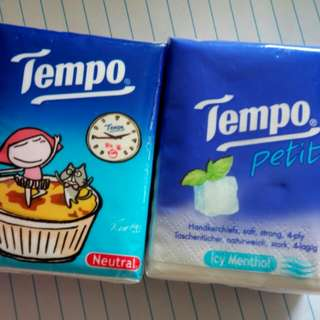 TEMPO紙巾 兩包